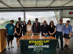 "Congressmen Sign Pledge to ""Stand Up for Medicare"""