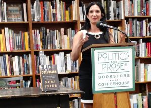Prins Presents Her New Book at D.C. Bookstore