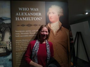 Hamilton Celebrated at the Grange